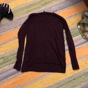 Toad & Co medium burgundy sweater
